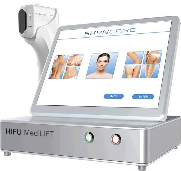 HIFU medilift skin tightening technology